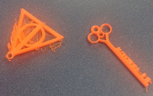 Two early prototypes from Soojin's designs. We're still working out how to avoid the scraggly edges.